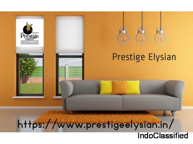 Prestige Elysian Pre Launch Apartment South Bangalore