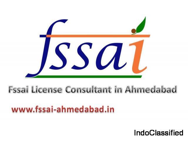 FSSAI license consultant in Ahmedabad