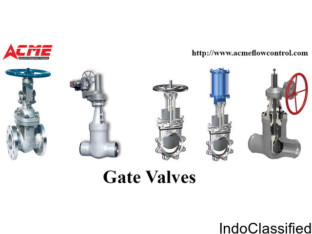 Gate Valves Manufacturers and Suppliers In Hyderabad