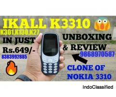 IKALL K3310  NEW PHONE @650