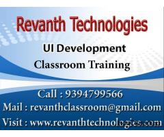UI Development Classroom Training