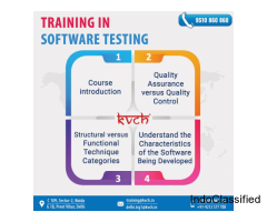 6 Weeks Software Testing project based training in noida