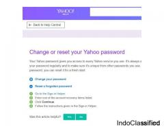 Important Ways to Follow On Changing Yahoo Account Passwords