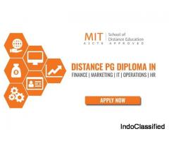 Post Graduate Diploma Courses in Management Equivalent to Distance / Correspondence MBA