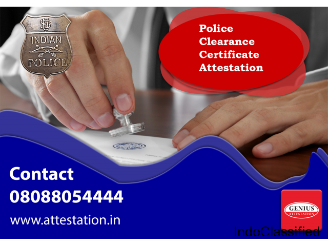 Police Clearance Certificate Attestation