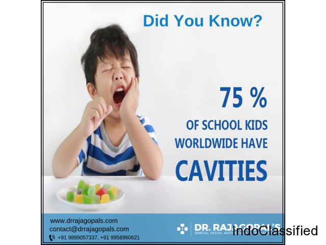 Kids Dentist in Gurgaon To Take Care Of Kid's Oral Health - Dr. RajaGopal's Clinic.