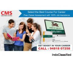 Tally ERP 9 with GST Complete Advance Course in Bangalore.