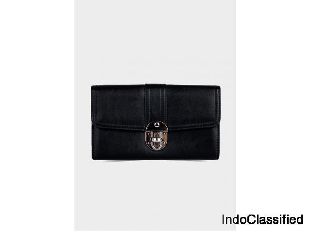 Buy Womens Noir Clutch from London Rag India