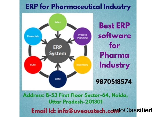ERP for Pharmaceutical Industry