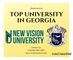 MBBS admission in top medical universities of Georgia