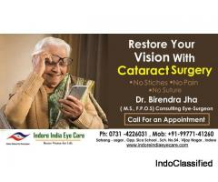 Best Cataract surgeon in indore