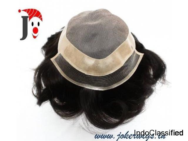 men natural hair wigs,human hair wigs India,joker wigs