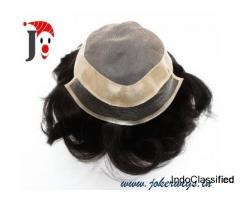 men natural hair wigs,human hair wigs India,joker wigs