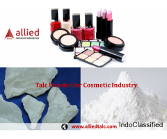 Supplier of Talc Powder in India Soapstone Powder Manufacturer for Cosmetic Industry