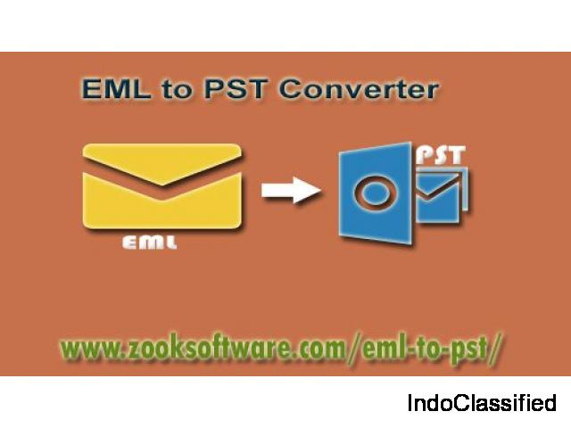 Convert EML to PST with Attachments in Bulk Using EML to PST Converter