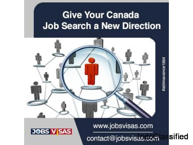 Give your Canada Job search a new direction