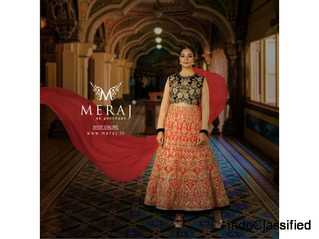 Buy Anarkali Suits Online for Women | Meraj