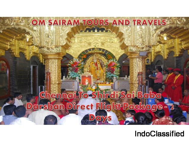 Chennai To Shirdi Direct Flight Package - 2 Days