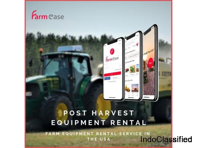 Post Harvest Equipment Rental - Farmease App