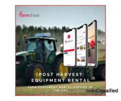 Post Harvest Equipment Rental - Farmease App