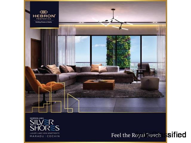 Hebron silver shores 3 BHK|Luxury Flats for Sale in Kochi