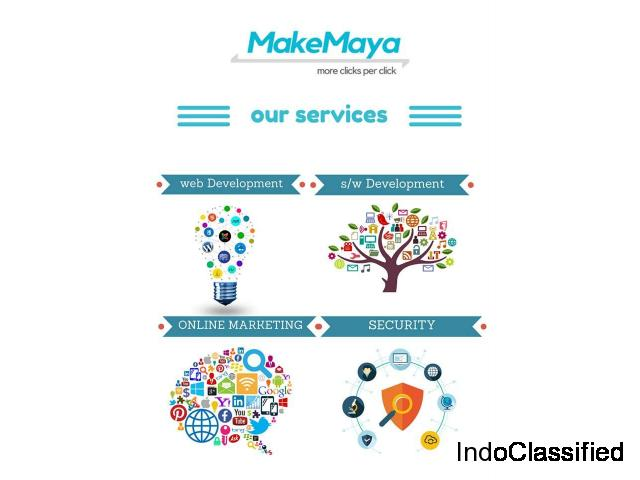 Web Design and Development Company in Delhi | MakeMaya