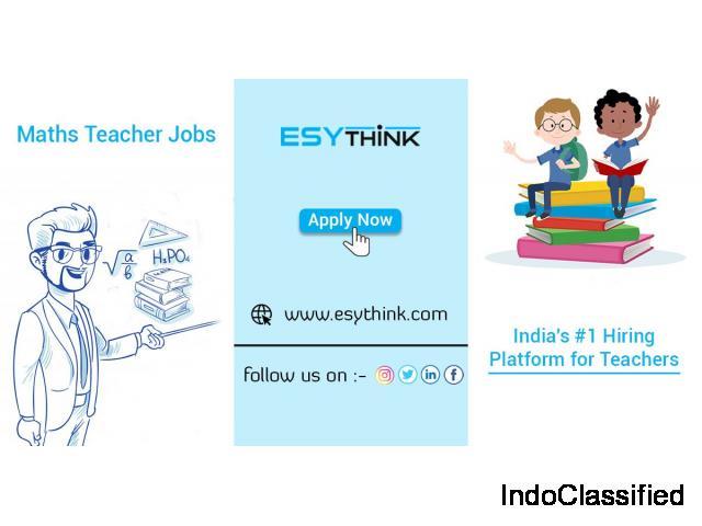Chance to Get Mathematics Teacher Jobs in India's Top Schools