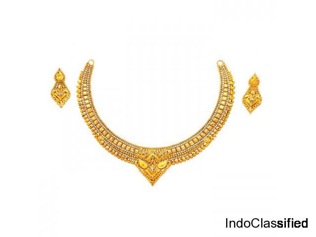 Buy Plain Gold Necklace