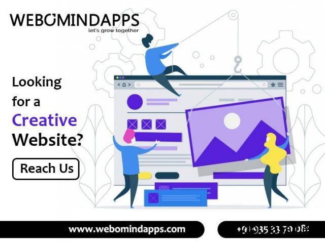 Web Designing Company in Bangalore - Webomindapps