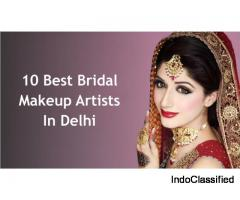 Top 10 Makeup Academy in Delhi | Popular Best Makeup Artist in Delhi NCR