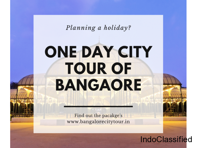 Bangalore Sightseeing by Bus |  Bangalore One Day City Tour Packages