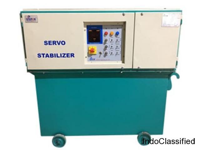 Manufacturer, Supplier & Exporter of 50 kva Servo Voltage Stabilizer