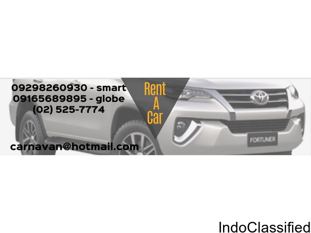 Car Rental Manila, Philippines