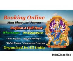 Book Maa Bhagwati Jagran Party In Delhi NCR And All In India