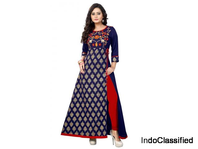 Shop Embroidered Kurtis Online At Mirraw - Upto 75% Off
