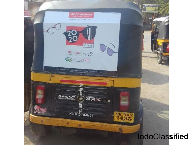 Auto rickshaw branding is an innovative and effective method of outdoor advertising.