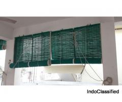 Green Balcony Bamboo Curtains in Ahmedabad
