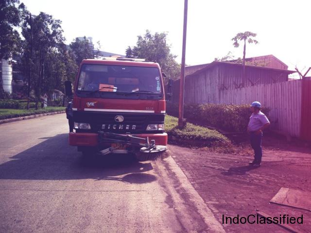 CLEANLAND: Truck Mounted Sweeping Machine INDIA