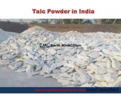 Talc Powder in India Best Supplier Earth MineChem