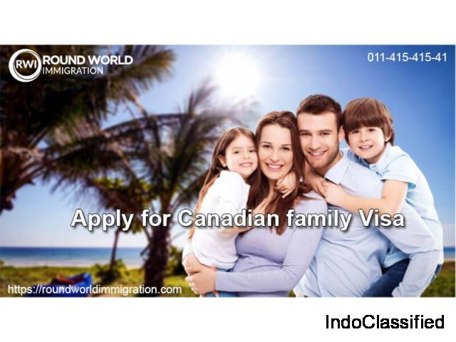Apply for Canadian family visa
