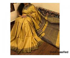 Ethinic Tussar Silk Sarees 2019 Online | Tussar Sarees Online | Paarijaatham
