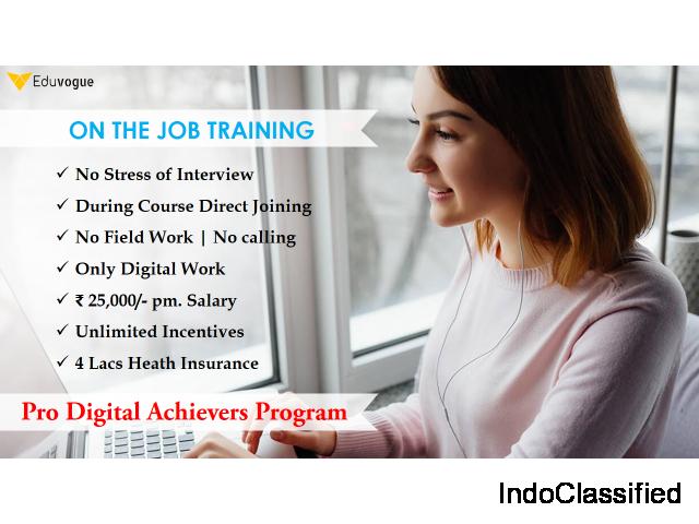 Learn Digital Marketing Certification Program (DMCP) in 45 days with 100% job guarantee