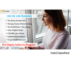 Learn Digital Marketing Certification Program (DMCP) in 45 days with 100% job guarantee