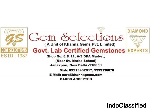 Natural Gemstones List - Gem Selections