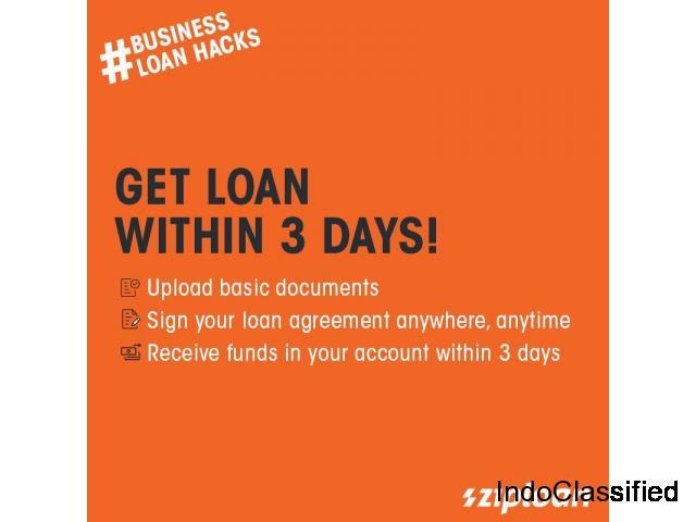 Get Hassle Free MSME Loan at ZipLoan