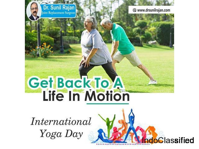 Knee specialist in Indore - Dr. Sunil Rajan