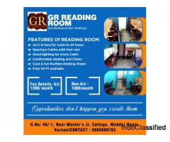 Reading Rooms in Kurnool || GR Reading Rooms in kurnool