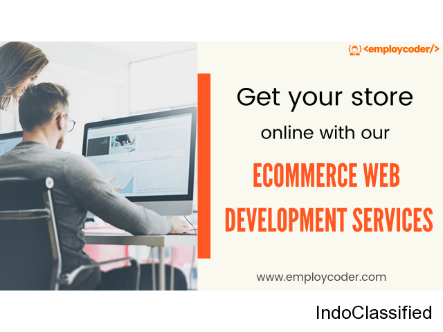 Build Your Ecommerce Store with our Ecommerce Web Development Services