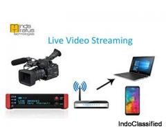 HD Live Streaming & Broadcasting Services in Delhi.