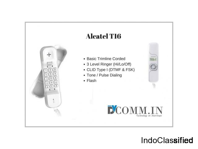 Buy Best Landline Alcatel T16 Telephone at Cheap Price in India